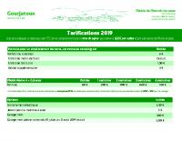 Tarif en pdf