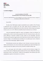 Message de Madame Darrieussecq