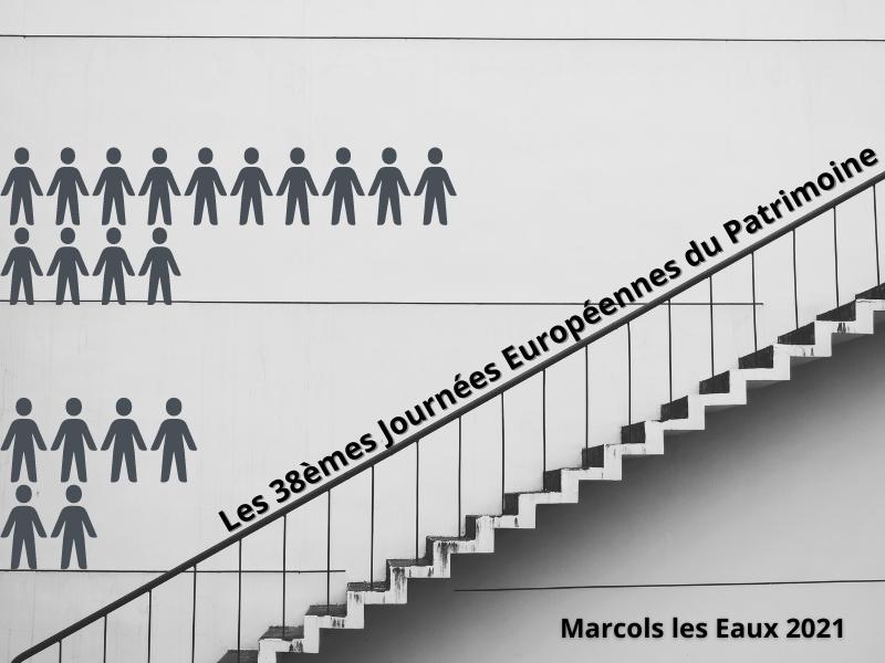Les 38èmes Journées Européennes du Patrimoine le 19 septembre 2021 à Marcols les Eaux.